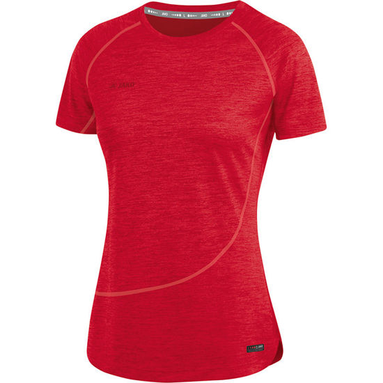 Afbeeldingen van T-shirt Active Basics  rood gemeleerd