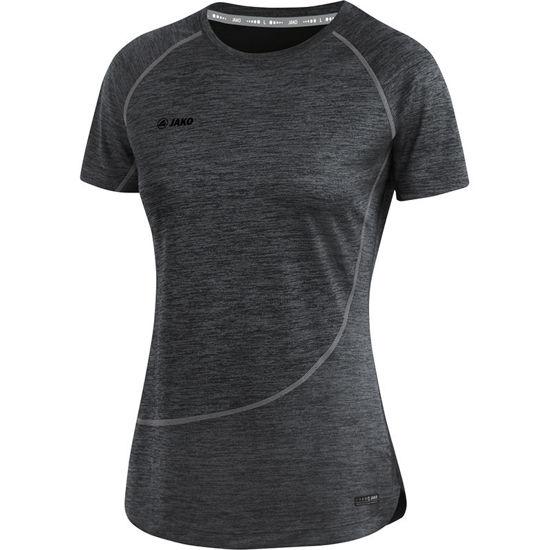 Afbeeldingen van T-shirt Active Basics  zwart gemeleerd